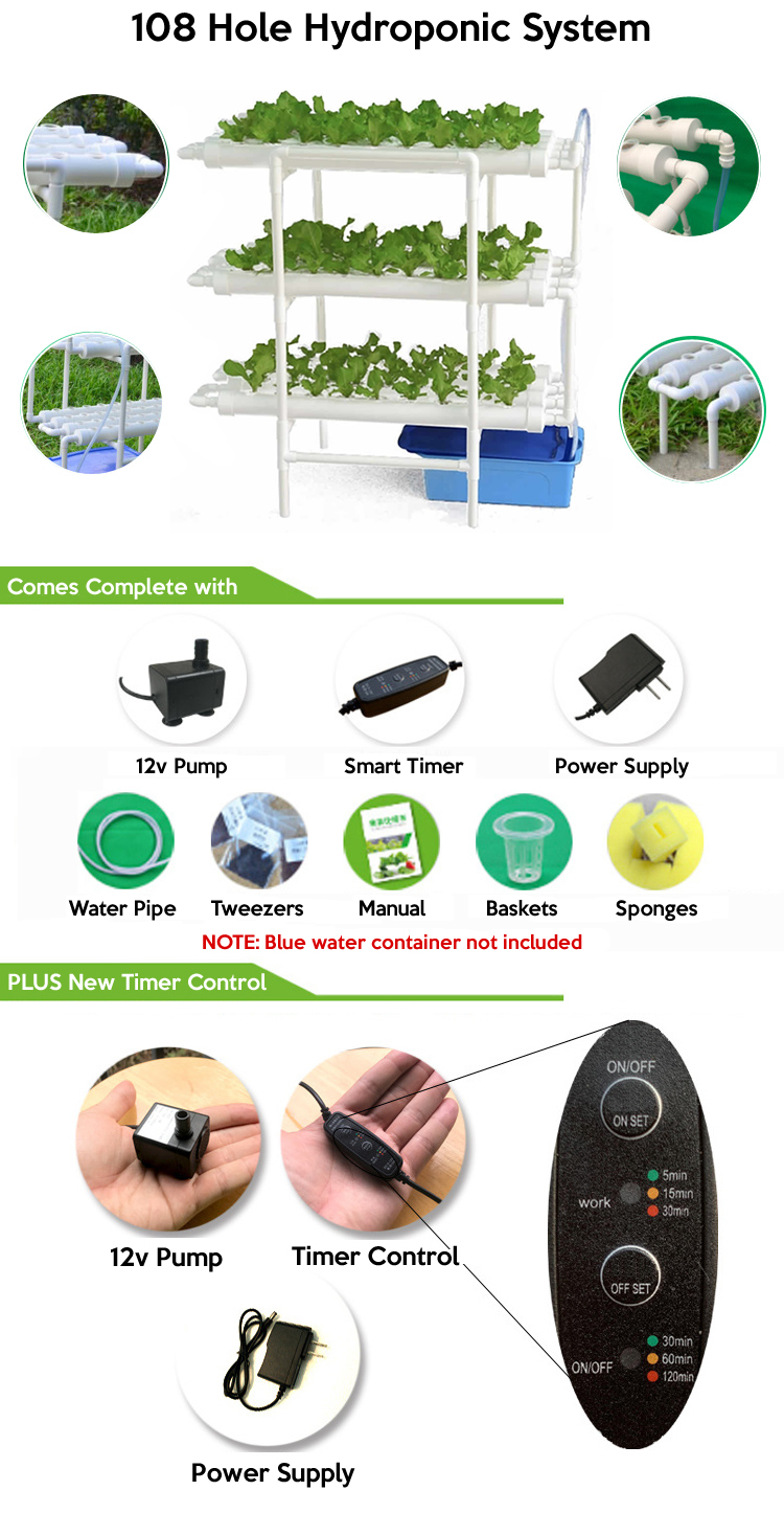best 108 holes hydroponic system purchase online