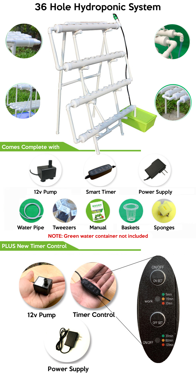 best 36 holes hydroponic system purchase online