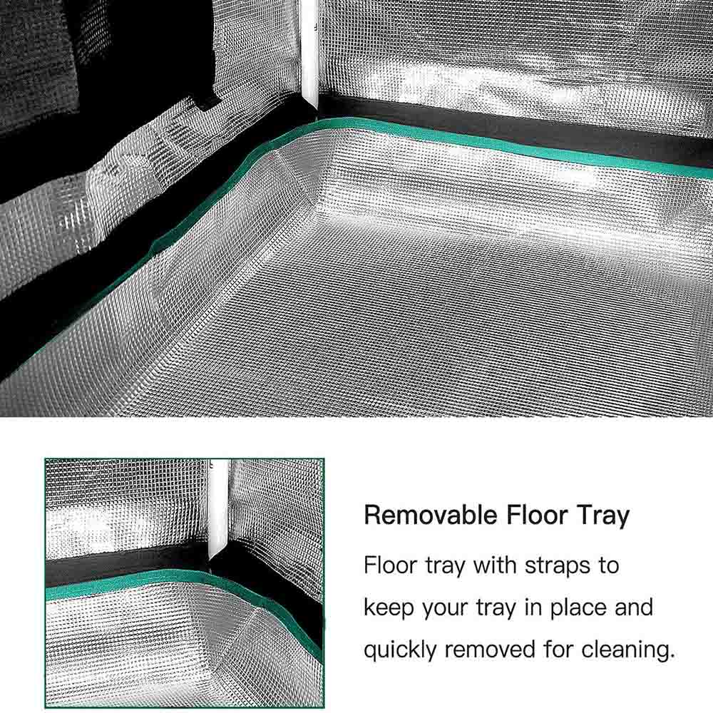 removable floor tray